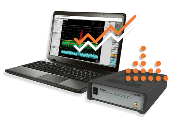 S240 Real-Time Spectrum Analyzer software for spectrum monitoring and RF frequency analysis