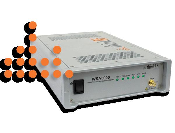 ThinkRF WSA5000 Real Time Spectrum Analyzer