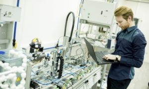 wireless testing in factory