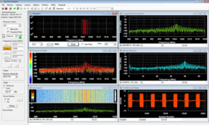 DynamicSignals SpectraScopeRT Spectrum Analyzer Software