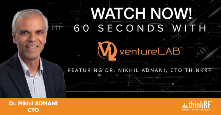 Our own Dr. Nikhil Adnani shares his insights with ventureLAB
