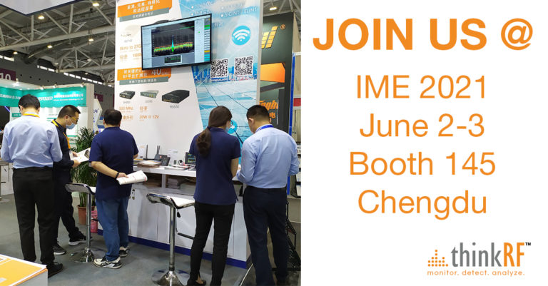 Join us @ IME 2021 – Booth 145 Chengdu, China June 2-3!