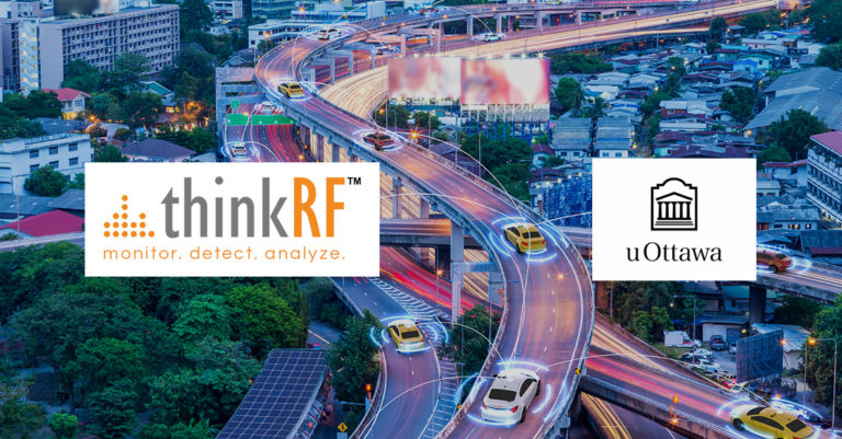 thinkRF partnered with the new uOttawa Kanata North Smart Connected Vehicles Innovation Centre